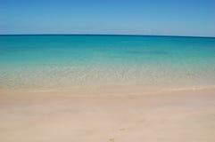 Playa hermosa Foto de archivo libre de regalías