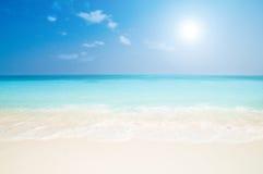 Playa hermosa Imagen de archivo libre de regalías
