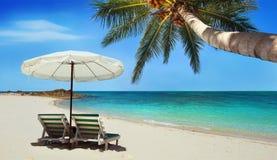 Playa hermosa Imagenes de archivo
