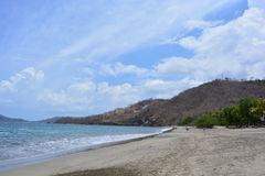Playa Hermosa beach in Costa Rica Royalty Free Stock Image