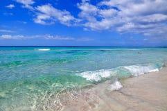 Playa hermosa de la isla de Menorca Fotografía de archivo libre de regalías