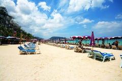 Playa hermosa de phuket Fotos de archivo libres de regalías