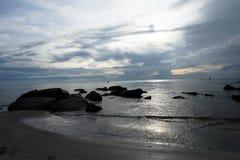 Playa hermosa de Tailandia Fotos de archivo libres de regalías