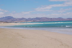 Playa hermosa del océano Foto de archivo