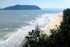 Playa hermosa en el sur de Tailandia Foto de archivo libre de regalías