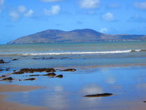 Playa hermosa en Irlanda Imagen de archivo