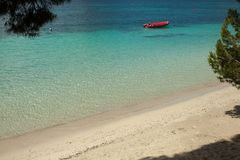 Playa hermosa en Mallorca, España holidays Verano imagen de archivo