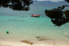 Playa hermosa en Mallorca, España holidays Verano imagenes de archivo