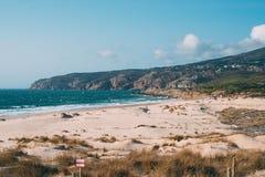 Playa hermosa en Portugal Imagen de archivo