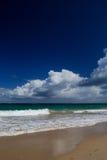 Playa hermosa en Puerto Rico Imágenes de archivo libres de regalías