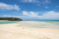 Playa hermosa Fiji fotografía de archivo