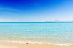 Playa hermosa Majorca del verano Fotografía de archivo libre de regalías
