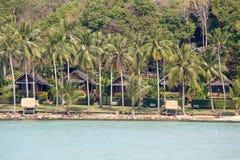 Playa hermosa tropical en la isla Koh Kood, Tailandia Foto de archivo