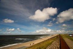 Playa holandesa Imagenes de archivo