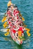 Playa Hong Kong de Stanley de la raza del festival de barcos de dragón Fotos de archivo