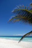 Playa idílica Fotos de archivo