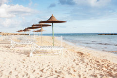Playa ideal Fotografía de archivo