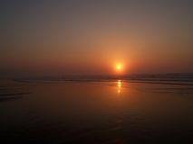 Playa ii de Sopelana fotografía de archivo libre de regalías