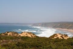 Playa III de Bordeira Imágenes de archivo libres de regalías