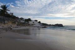 Playa incontaminada Imágenes de archivo libres de regalías