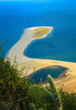Playa inusual de Marinello Fotografía de archivo libre de regalías