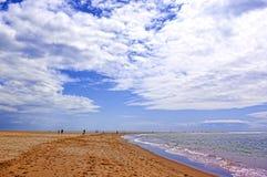 Playa, Isla Canela, España Imágenes de archivo libres de regalías