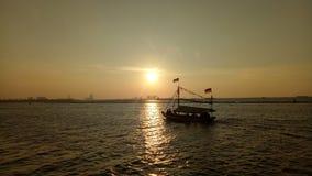 Playa Jakarta de Ancol fotos de archivo