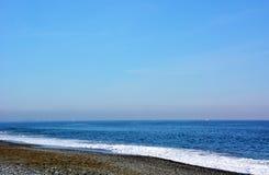 Playa japonesa del invierno Fotos de archivo