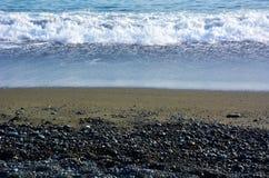 Playa japonesa del invierno Fotografía de archivo libre de regalías