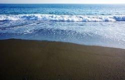 Playa japonesa del invierno Fotografía de archivo