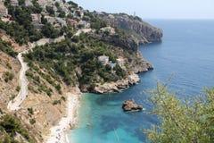 Playa Javea España de Ambolo Imagen de archivo libre de regalías