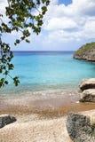 Playa Jeremi, Curacao Arkivbilder