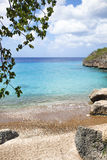 Playa Jeremi, Curacao. Playa Jeremi beach at Lagun village, Curacao stock images