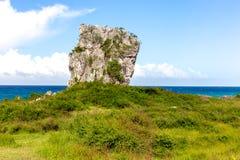 Playa Jibacoa,古巴的北海岸 库存图片