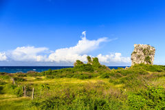Playa Jibacoa, costa nordica di Cuba Fotografie Stock