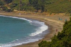 Playa Jijel, Argelia Imagenes de archivo