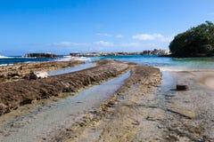 Playa Kanao Стоковое Изображение
