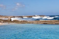 Playa Kanao Arkivbild