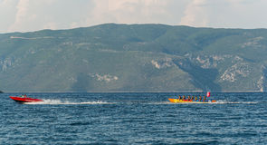 Playa Kefalonia Grecia de Antisamos Imagen de archivo libre de regalías