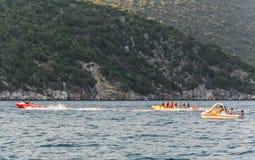 Playa Kefalonia Grecia de Antisamos Fotografía de archivo libre de regalías