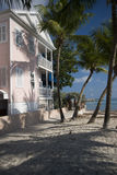 Playa Key West la Florida de la configuración fotos de archivo