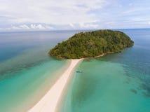 Playa Kudat de Kelambu imágenes de archivo libres de regalías