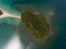 Playa Kudat de Kelambu imagenes de archivo