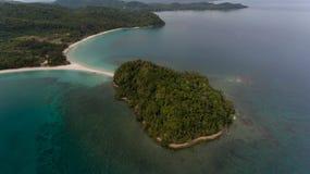 Playa Kudat de Kelambu fotos de archivo libres de regalías