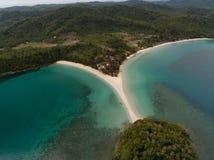 Playa Kudat de Kelambu fotografía de archivo libre de regalías