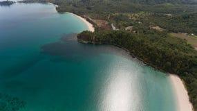 Playa Kudat de Kelambu foto de archivo libre de regalías