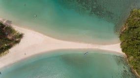 Playa Kudat de Kelambu imagen de archivo libre de regalías
