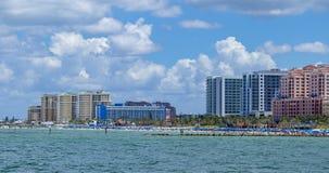 Playa la Florida del clearwater del horizonte del océano foto de archivo libre de regalías