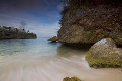 Playa Lagun Curaçao images libres de droits