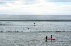 Playa, Lahinch, Irlanda Imagenes de archivo